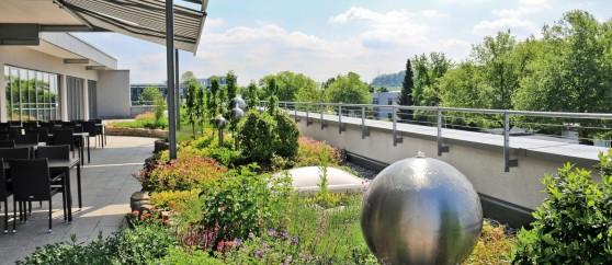Покривна градина със система Aquatec