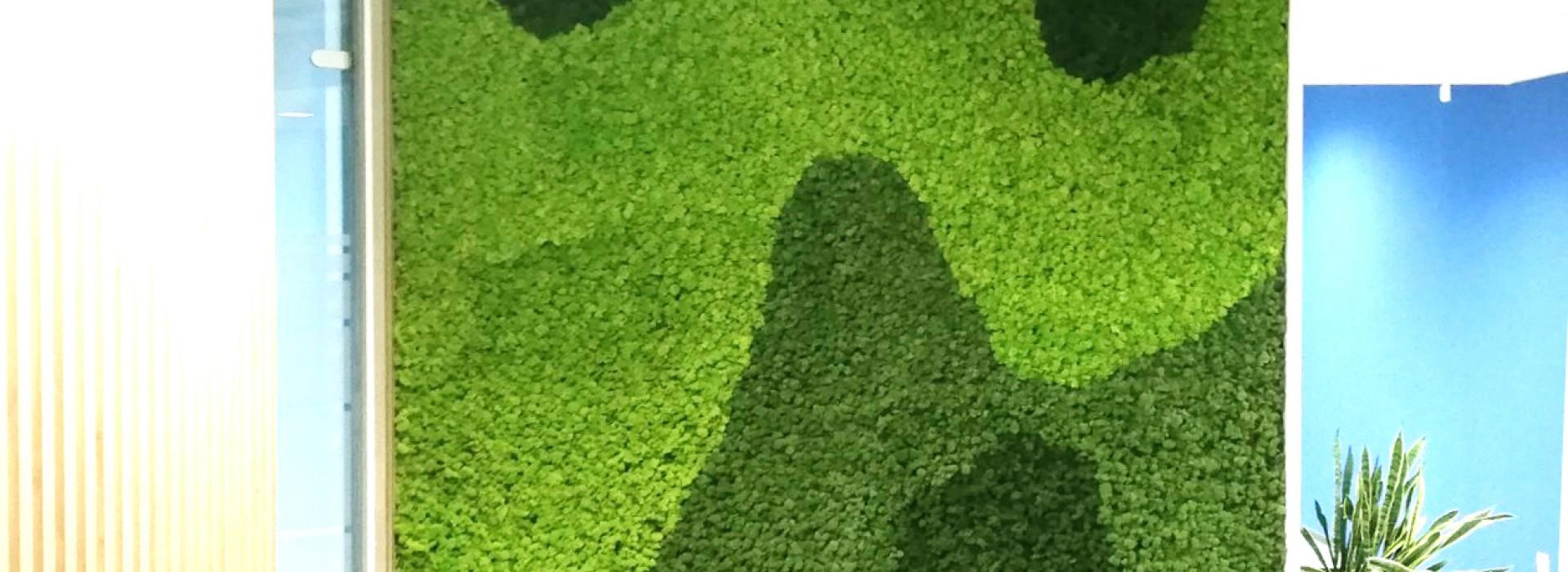 Зелена стена от скандинавски мъх FioraMOSS